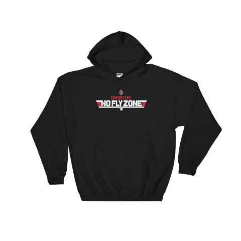 Hooded Sweatshirt - No Fly Zone
