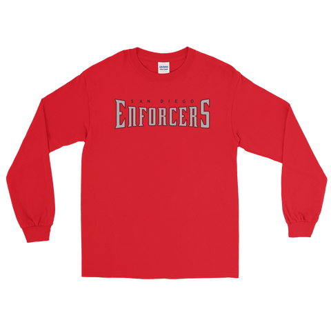 Enforcers - Red Long Sleeve