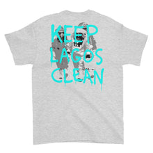 Keep Lagos Clean (Teal) - Short-Sleeve T-Shirt