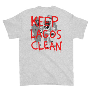 Keep Lagos Clean (Red) Short-Sleeve T-Shirt