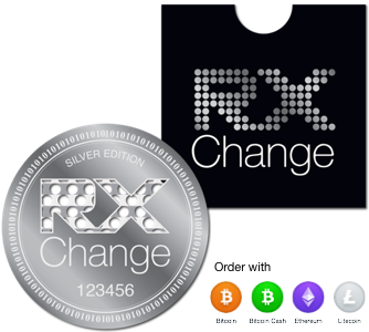 Stainless Steel Limited Edition RXChange Medallion