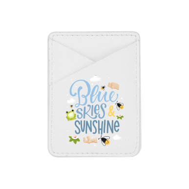 Blue Skies & Sunshine- Pixie Pocket