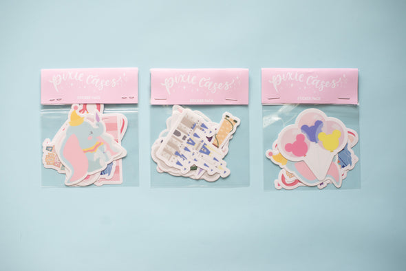 Pixie Sticker Packs (Living in Fantasyland West Coast)