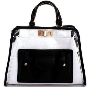 Sophisticated See-Thru Satchel