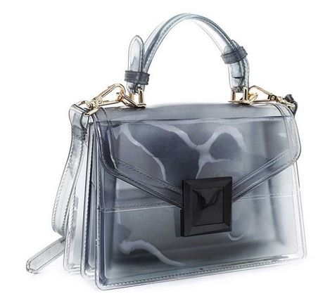 Clear & Precise Satchel- Black