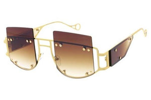 It's About U- Brown Tint Sunglasses