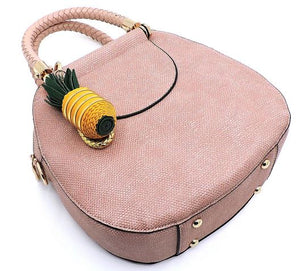 Blush Pineapple Bag