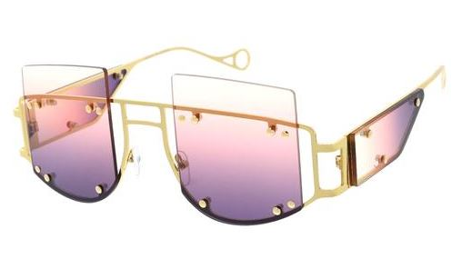 It's About U- Purple Tint Sunglasses