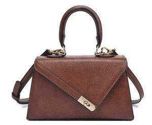 The Chic Satchel- Brown