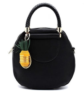 Black Pineapple Bag