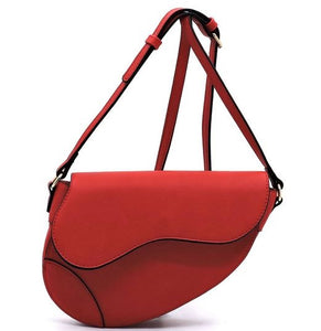 Red Sleek Crossbody