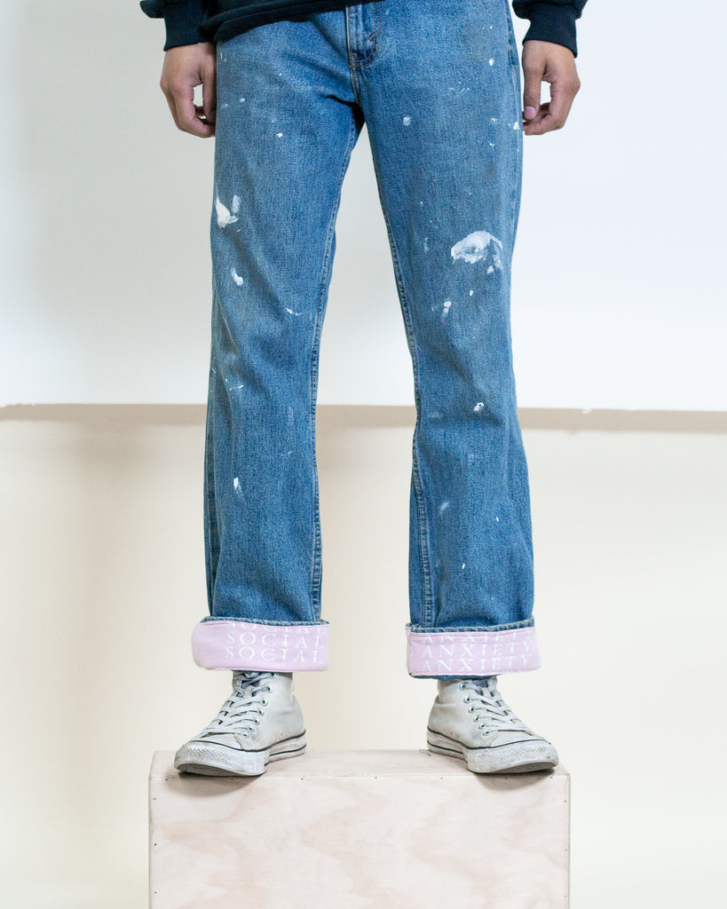 Social Anxiety Denim Jeans