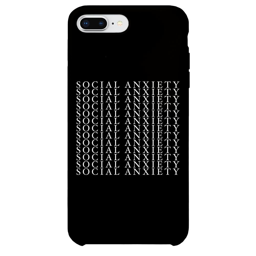 Social Anxiety iPhone Case