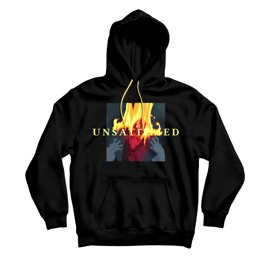 Unsatisfied Hades Black Hoodie