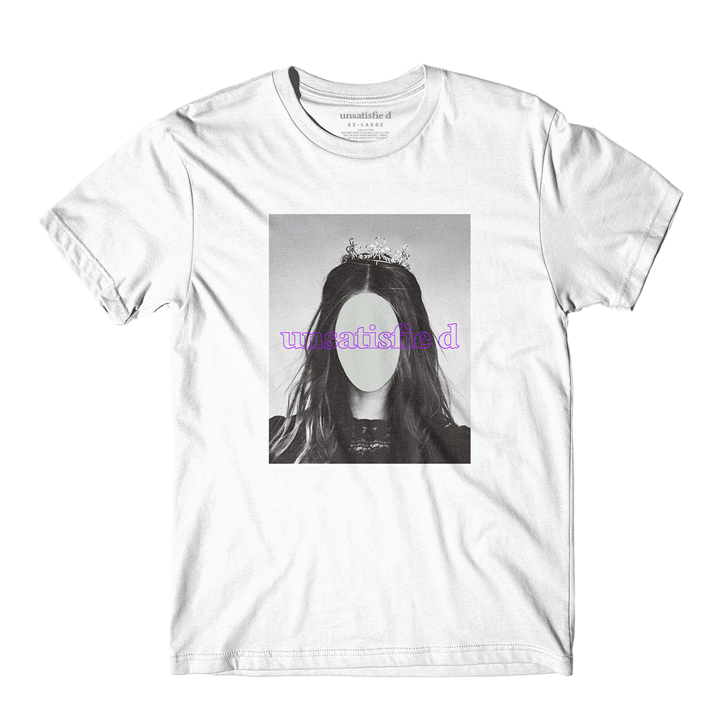 Unsatisfied Emma White Tee