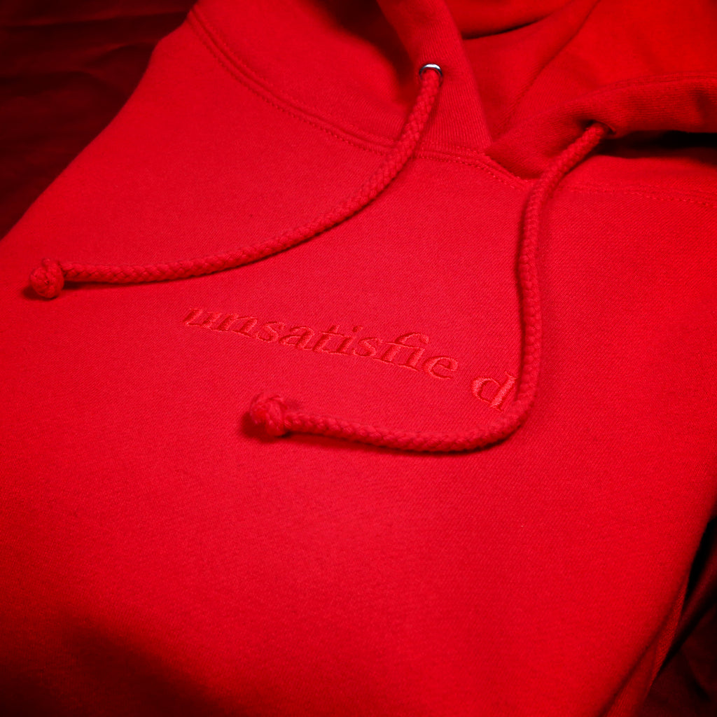 Unsatisfied Red Hoodie