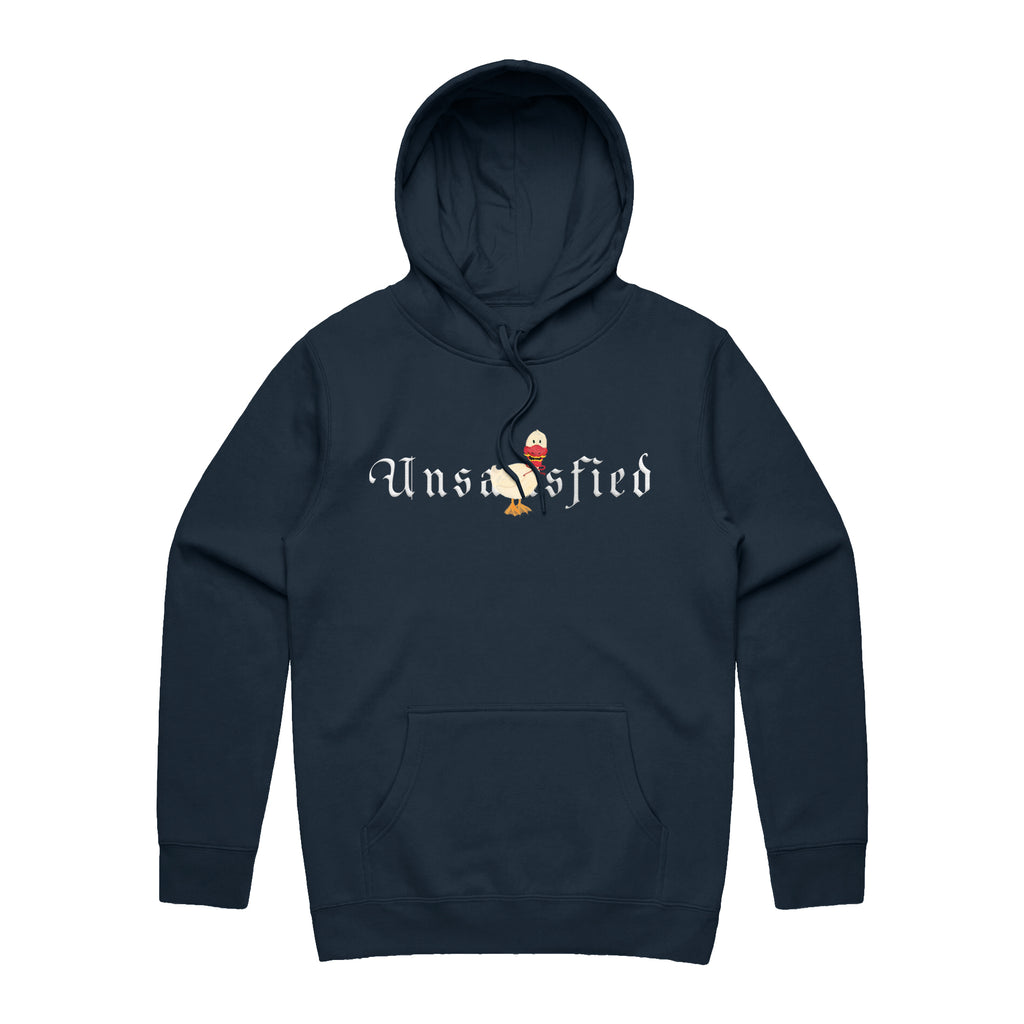 Unsatisfied Bird Navy Hoodie