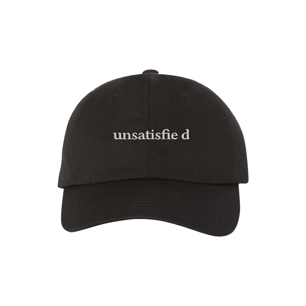 Unsatisfied Black Dad Hat