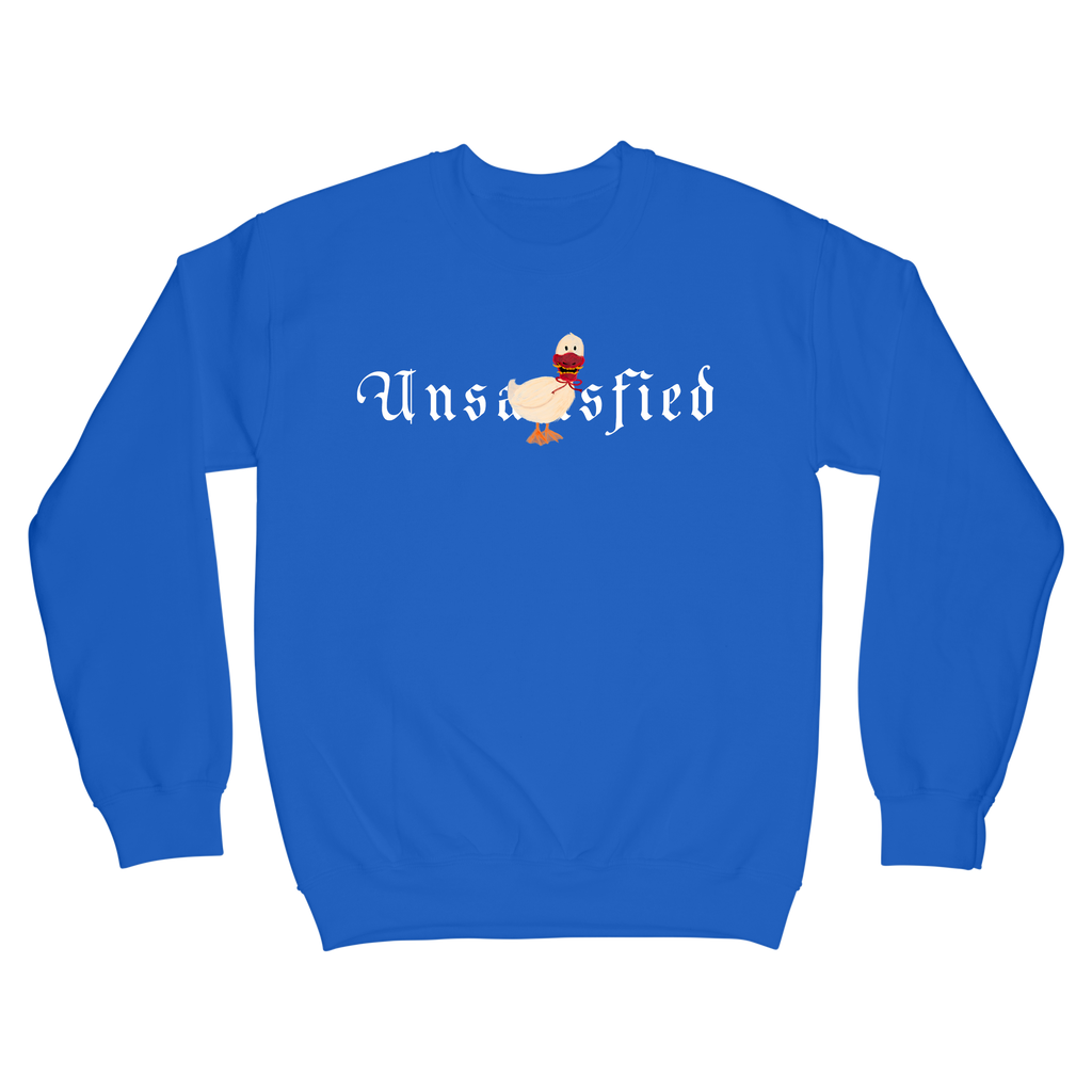 Unsatisfied Bird Royal Blue Crewneck