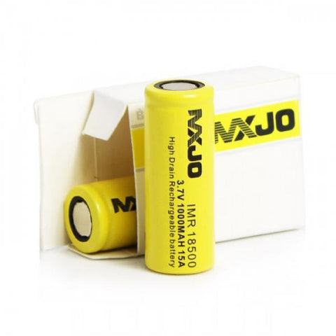 18500 MXJO 1000 mAh HD (15 amp) Battery - Vaporized LLC