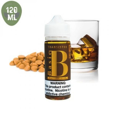 Transistor 120 Basic B Butterscotch Bourbon 3 nic - Vaporized LLC