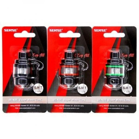 Sense Super Mesh Tank Black/Red - Vaporized LLC