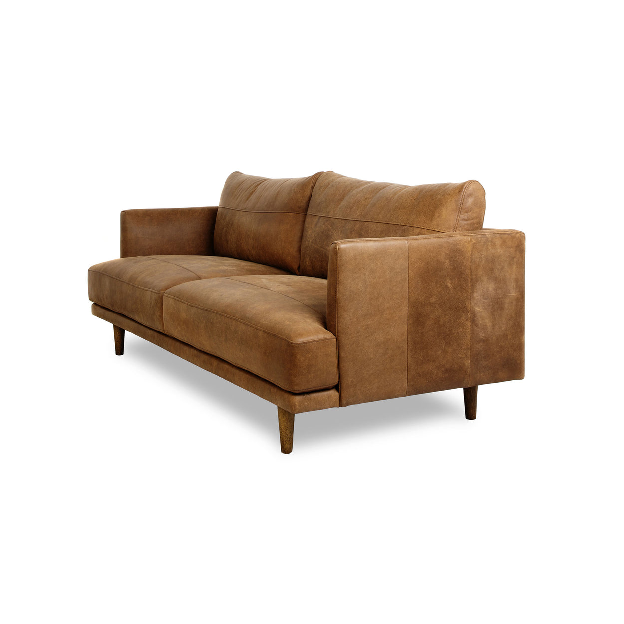 RUBY LEATHER - 3 Seat Sofa