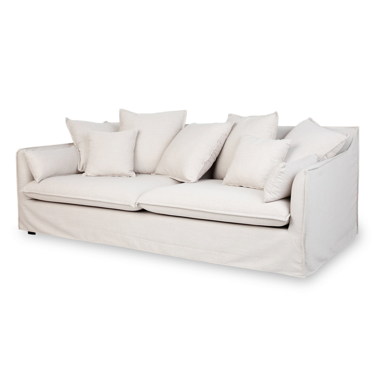 SKY - 3 Seat Sofa with Natural Cover
