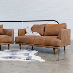 RUBY LEATHER - 2 Seat Sofa