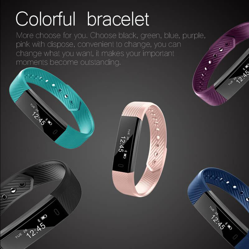 Purchase More and Receive Discount|Smart Bluetooth Bracelet for IOS/Android