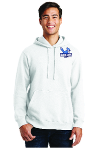 Brookwood Port & Company Fan Favorite Fleece Pullover Hooded Sweatshirt.