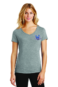 Brookwood District Made® Ladies Perfect Tri™ V-Neck Tee.