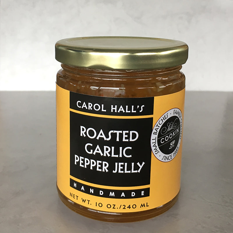 Roasted Garlic Pepper Jelly
