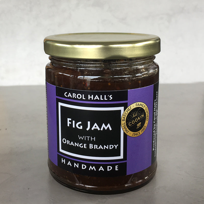 Fig Jam with Orange Brandy