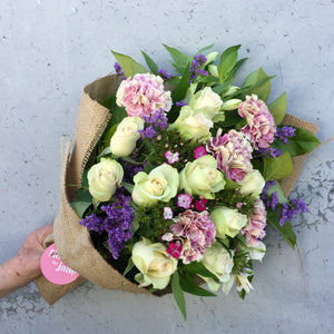 How to make your friends feel loved and cared for, with flowers of course.