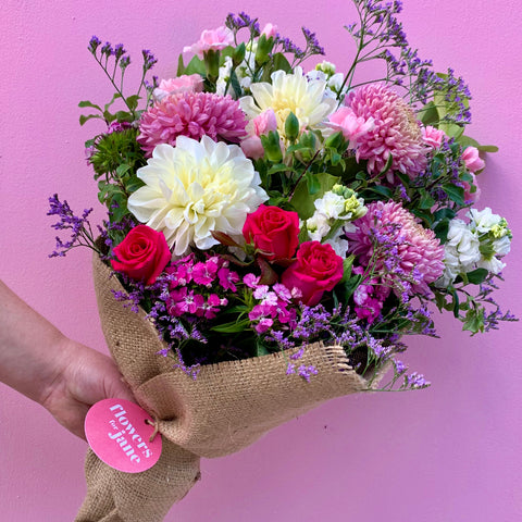 flowers delivered in Melbourne with Contactless delivery.