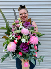 Melbourne florist Cassy Canterford