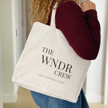Load image into Gallery viewer, The Wander Crew Tote Bag