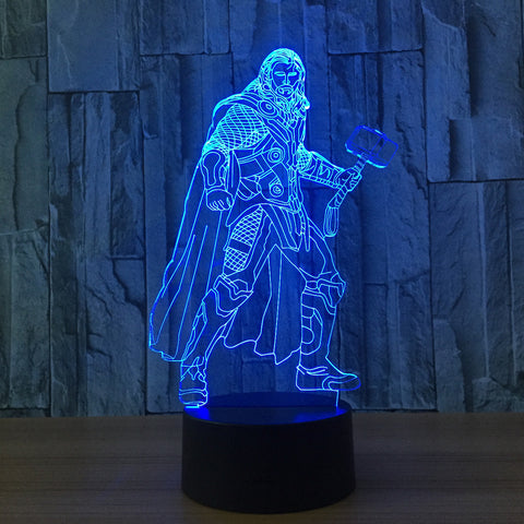 Marvel's Thor 3D Table Lamp