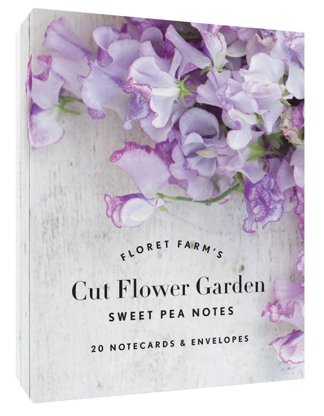 Puriri Lane | Floret Flower Farm's Sweet Pea Note Cards