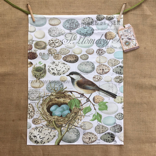 Puriri Lane | Nest & Eggs | Tea Towel