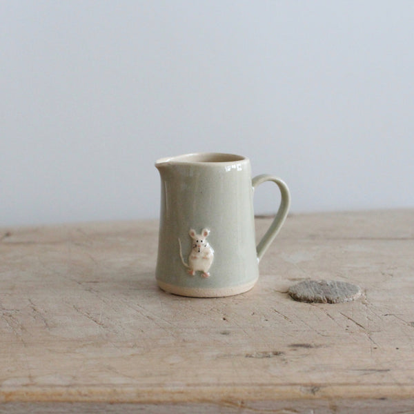 Puriri Lane | Tiny Jug | Eau de Nil | Mouse