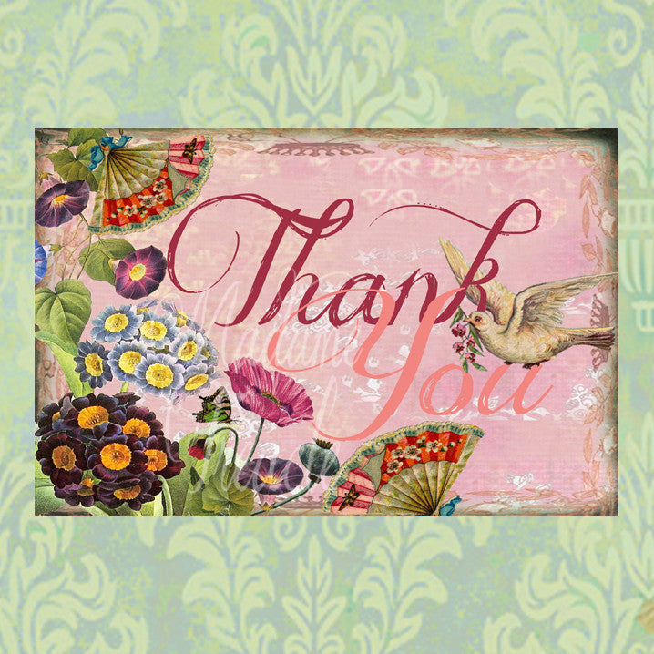 Puriri Lane | Thank you card | Madame Treacle