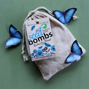 Puriri Lane | Seed Bombs | Butterfly Blend