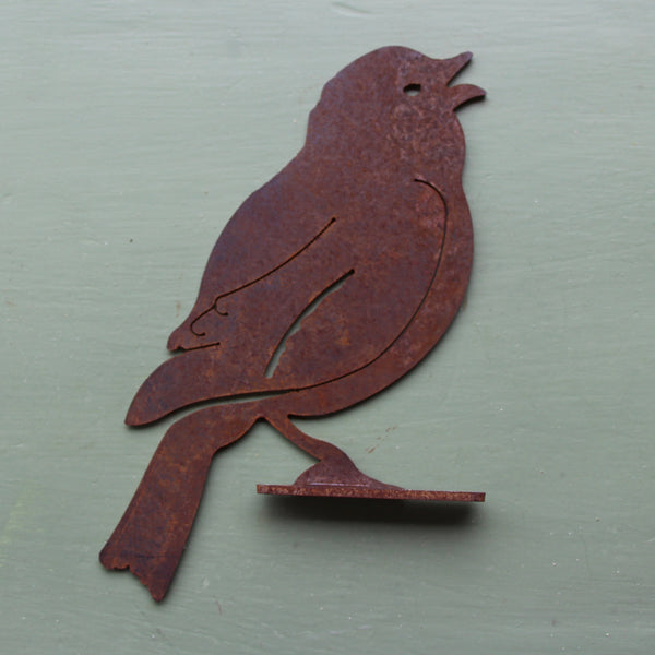 Puriri Lane | Singing Bird | Corten Steel