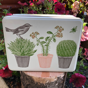 Puriri Lane | Cactus & Bird | Seed Tin