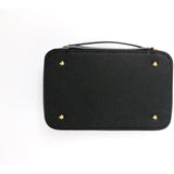Large Black Cosmetic Case