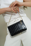 Milly Multi-Wear Bag - Black Croc