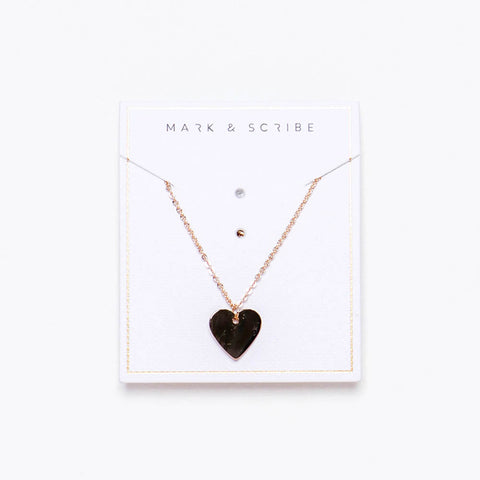Sweet Heart Necklace - Gold