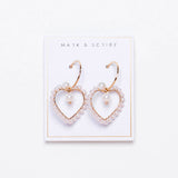 Heart of Pearls Earrings